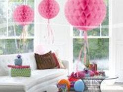 Honeycomb Baby Pink 30cm F 60305