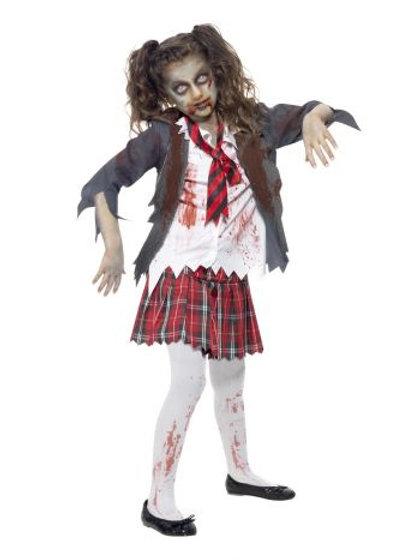 Zombie School Girl Costume 43025 S