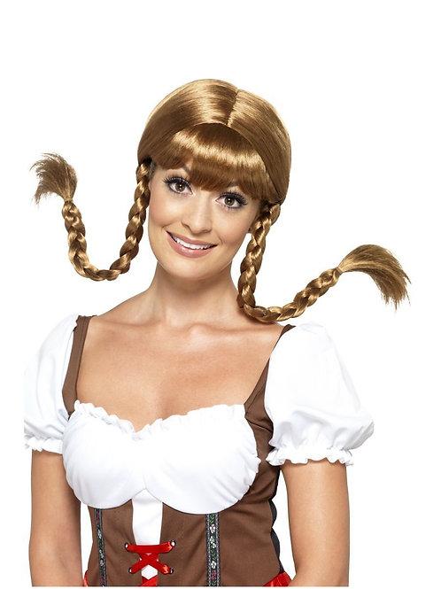 Bavarian Babe Wig, Plaited. 45228 Smiffys