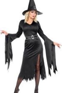 """""""WITCH"""" (dress, belt, hat). 01601 W"""