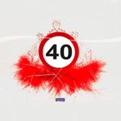 Tiara 40 Traffic Sign F 28840