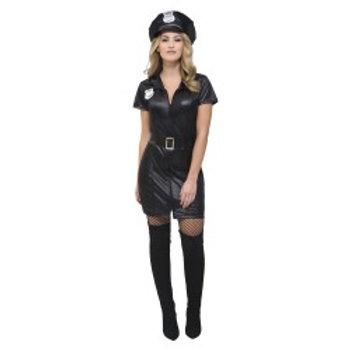 Fever Sexy Cop Costume, Black 31901 S