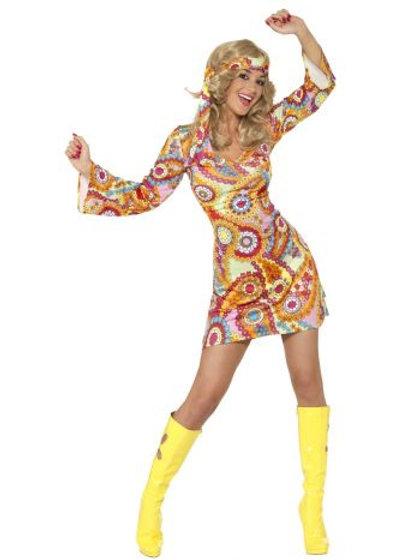 1960s Hippy Costume. 34060 S