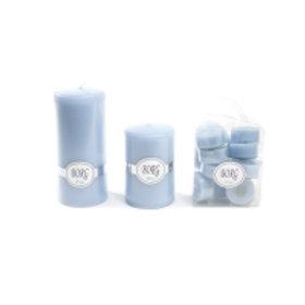 Kubbelys 7x10-  18 Lys blå