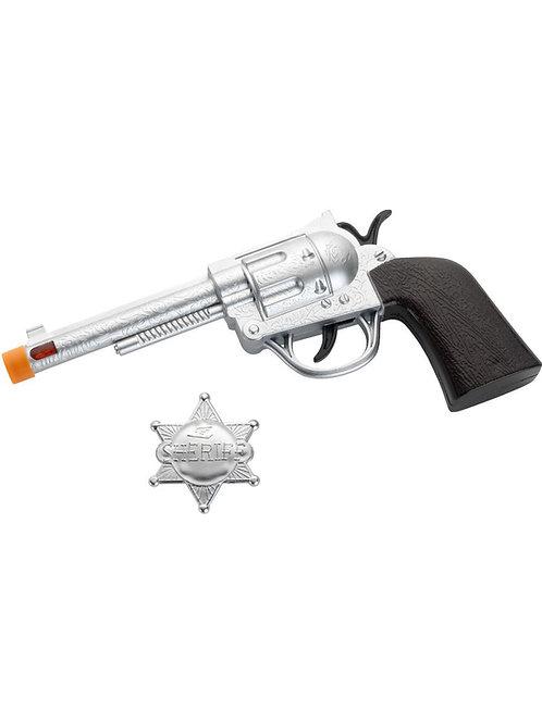 Western Roscoe Gun and Badge 22333 S
