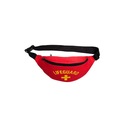 Bum Bag - Red Lifeguard. AC-9077 Wicked