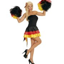"MISS GERMANY"" (dress, cockade hair comb) 76041 W"