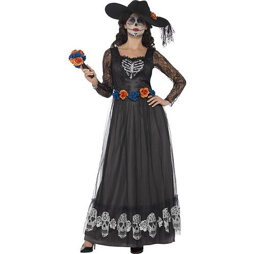 Day of the Dead Skeleton Bride Costume. 44944 S