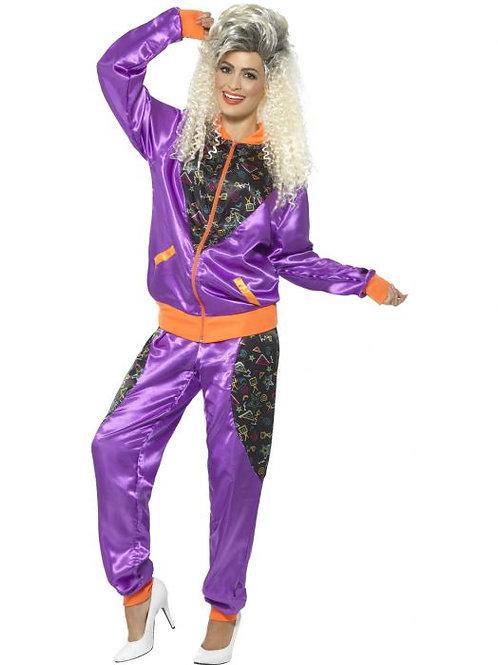 Retro Shell Suit Costume, Ladies. 43080 S