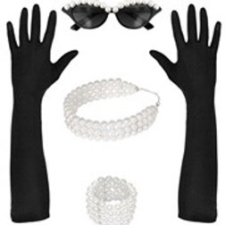 """TIFFANY"" (glasses, gloves, choker, bracelet). 00119 W"