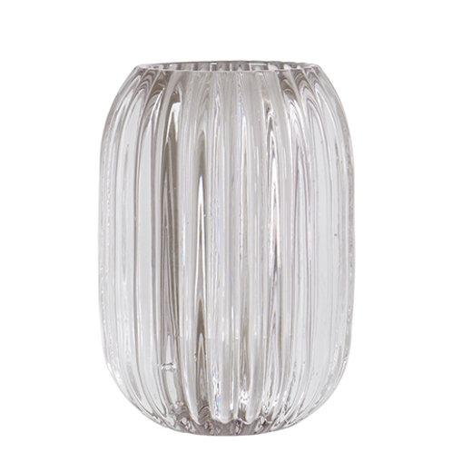 VEGA Tea light holder L clear 9xH13 cm 881-895-00