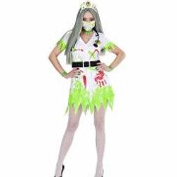 """TOXIC NURSE"""" (dress with belt, headpiece,... 98941 W"""