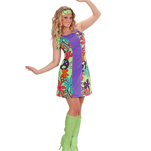"""GO-GO HIPPIE GIRL"" (dress, headband, boot covers)"