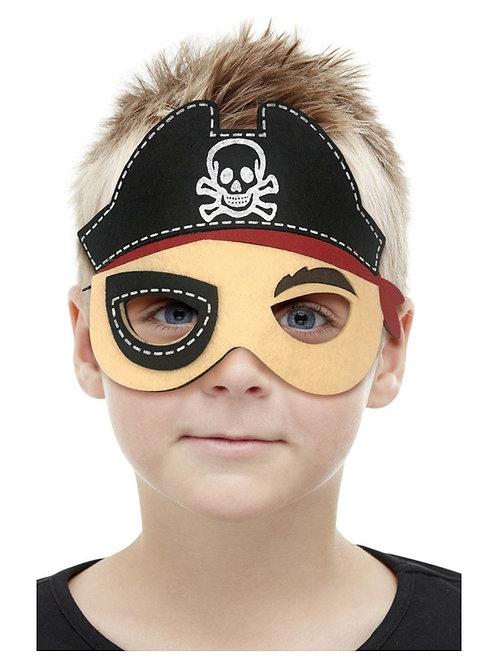 Kids Pirate Felt Mask. 72075 Smiffys
