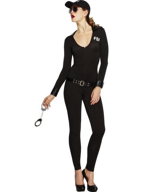 Fever FBI Flirt Costume SKU 31448