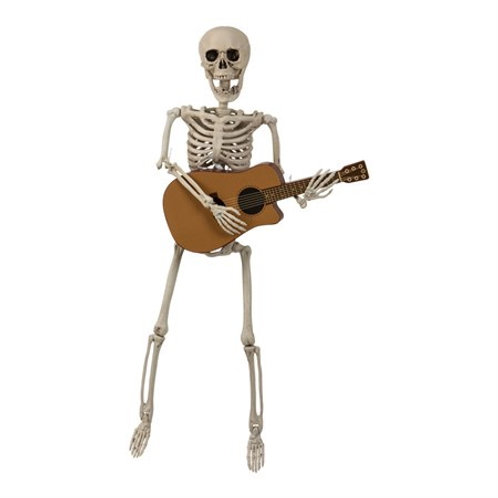 SKELETON PLAYING GUITAR. 96178 JOKER