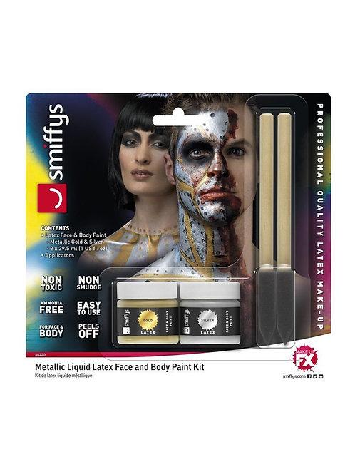 Metallic Liquid Latex Kit. 46220 Smiffys