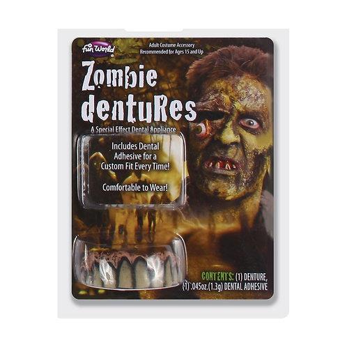 Big Bubba Dentures - Zombie FW-8980-ZOM W