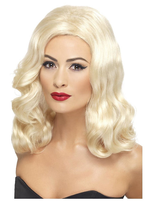 20s Luscious Long Wig, Blonde. 42461 S