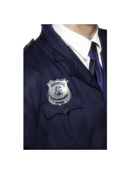 Metal Police Badge SKU 22480