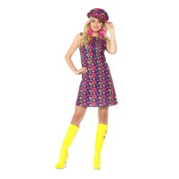 1960s Psychedelic CND Costume 47391 S