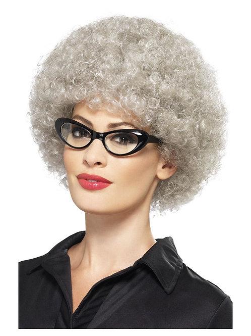 Granny Perm Wig, Grey. 43055 S