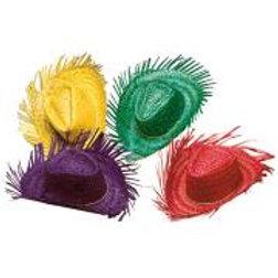 "STRAW GRINGO HAT"" 4 colors ass.2958X W"