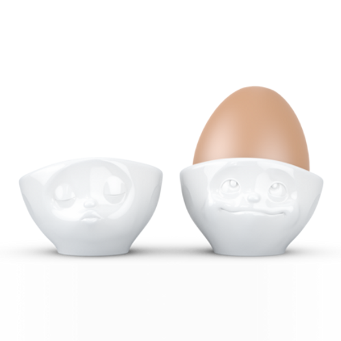 Egg cup Set No.1 - dreamy & kissing