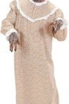 """GRANDMA WOLF"" (dress, bonnet). 71671 W"