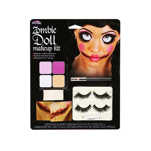 Zombie Doll Makeup Kit FW-5638ZD W