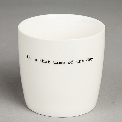 """KRUS HVIT """"IT`S THAT TIME OF THE DAY"""""""