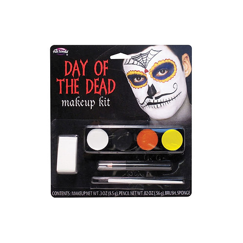 Day of the Dead Makeup Kit - Moustache Man FW-5618MM W