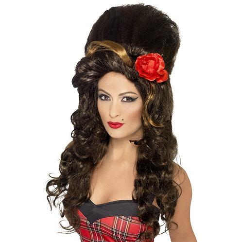 Amy Winehouse Rehab Wig ,Brown