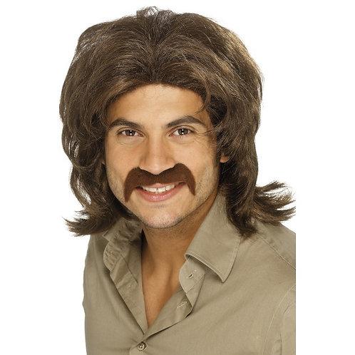 70'S Retro Wig,Brown. 42019 S