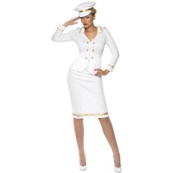 Officer's Mate Costume, White 33072 S