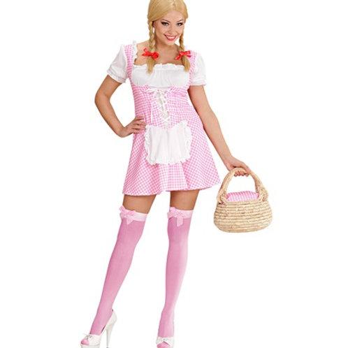 Miss Muffet Pink Dress. 89922 W