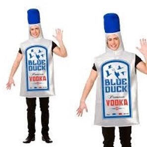 Blue Duck Vodka Bottle. FN-8627 Wicked