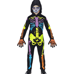 """""""COLORFUL SKELETON"""" (hooded overalls) W 70270"""