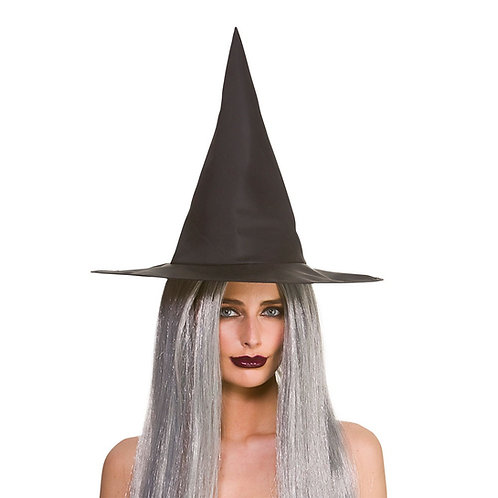 Witches Hat - Black - 43cm. AC-9754 Wicked