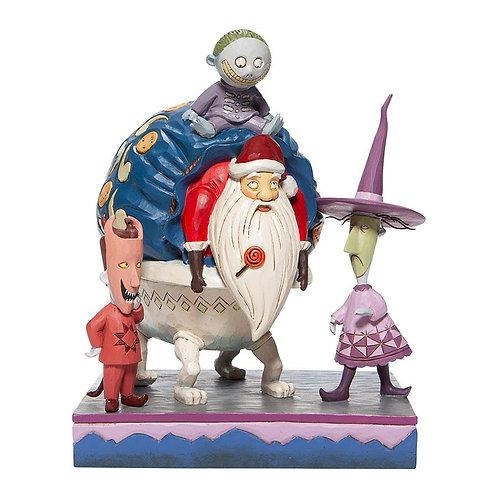 Lock, Shock & Barrel with Santa