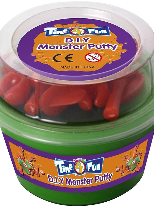 D.I.Y Critter Putty, Assorted. 22495 Smiffys