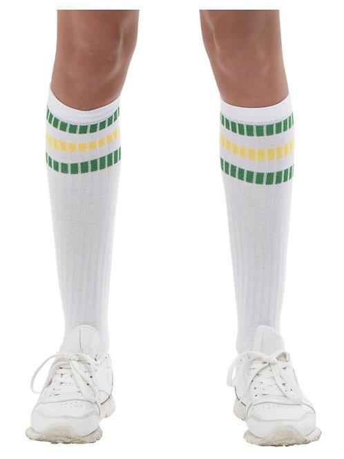 80s Sports Socks. 11955 Smiffys