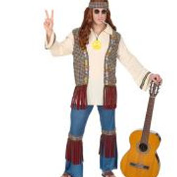 """HIPPIE"" (shirt with vest, pants, headband... W 07121"