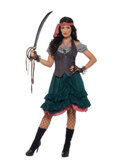 Deluxe Pirate Wench Costume 47360 S