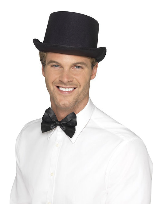 Top Hat, Satin Look. 41576 Smiffys