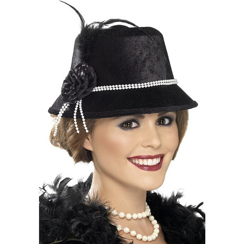 20'S Hat,Black