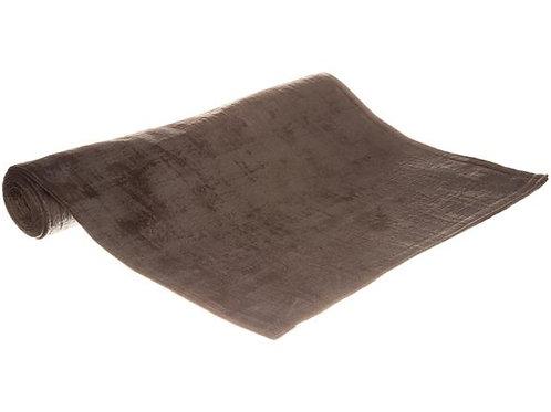 Brikke sjattert velur koksgrå 33x45cm Varenr:113200