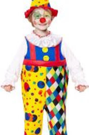 """CLOWN"" (overalls, hat) 07550 W"