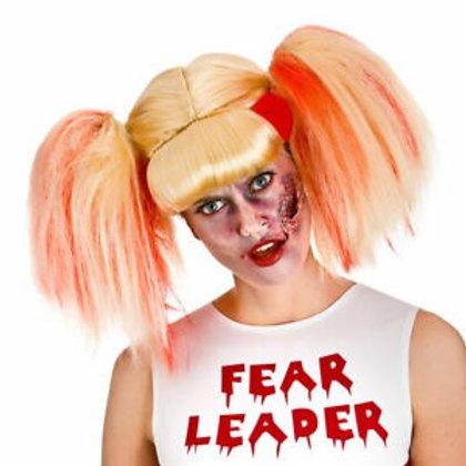 Ladies Zombie Cheerleader Wig. HW-8272 Wicked