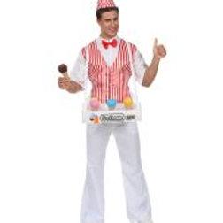 """ICE CREAM MAN"" (shirt with vest, bow tie,... W 68593"